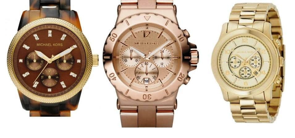 Los relojes Michael Kors son relojes de Moda