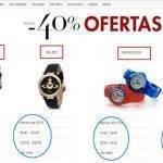 Relojes Rebajados en Reyes (Descuentos de hasta un 40%)