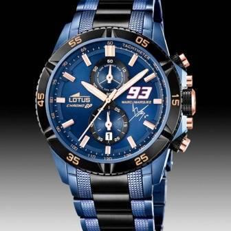 Reloj Lotus Marc Marquez modelo 18230,1 Edición Limitada \u2013 World Champions Chrono GP