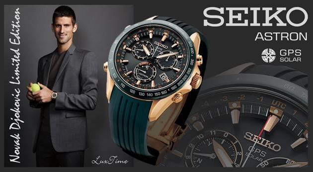 Seiko Astron GPS Solar Novak Djokovic modelo SSE022