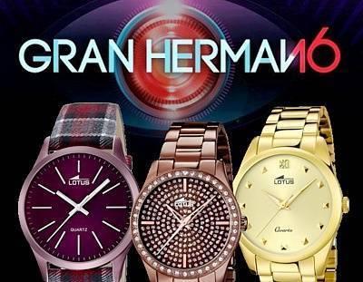 Relojes Lotus Gran Hermano 16