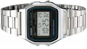 Reloj Casio modelo A158W-1 Vintage Retro