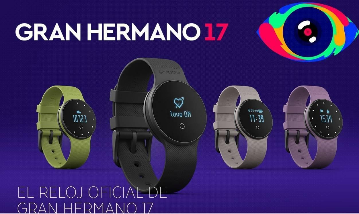 Reloj Gran Hermano 17 (GH17) Smartwatch GME1 Geeksme Life Lovers