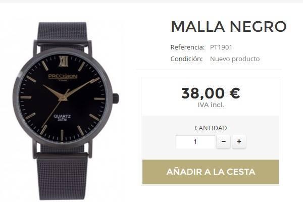 Reloj Moda Hombre