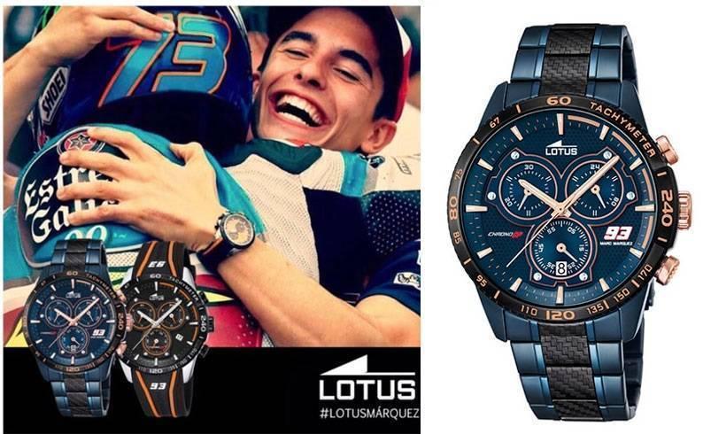 bed698d206dc Reloj Lotus modelo 18330-1 Marc Marquez - Edición Limitada 2016