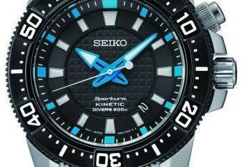 Reloj Seiko Sportura modelo SKA561P1 – Seiko Diver Kinetic