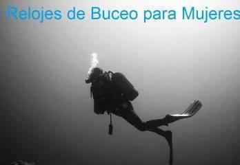 5 Relojes de Buceo para Mujeres