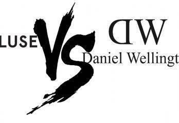 Comparativa entre marcas Cluse y Daniel Wellington (España 2016)