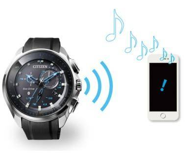 Reloj Citizen W770 Bluetooth modelo BZ1020-14E-1