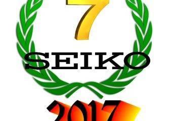 Los 7 Relojes Seiko de hombre más vendidos en 2017
