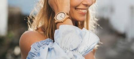 Relojes Madera Mujer
