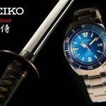 Colección de Relojes Seiko Prospex Samurai con Katana 2017