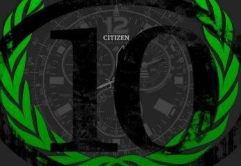 Los 10 Relojes de Citizen más vendidos en 2017 – Top 10