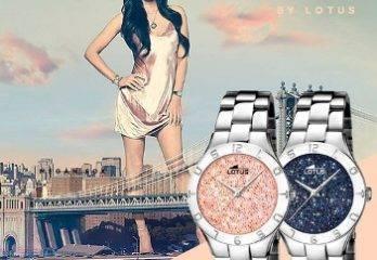 Relojes Lotus con cristales Swarovski Megan Fox – Relojes de moda 2017-2018