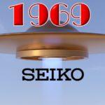 Relojes Seiko reedición UFO de 1969 Mecánicos para hombre -