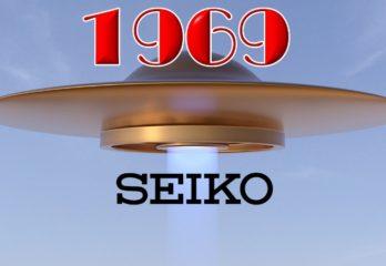 Relojes Seiko reedición UFO de 1969 Mecánicos para hombre –