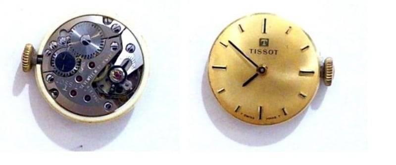 reloj tissot de oro