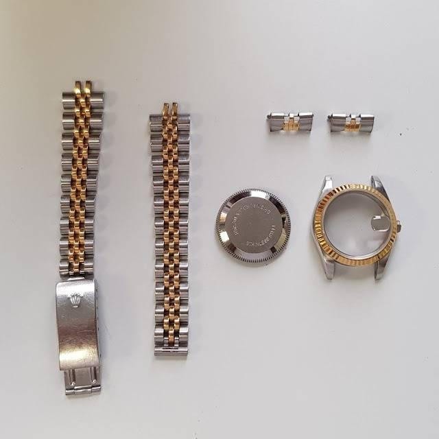exteriores de un reloj rolex