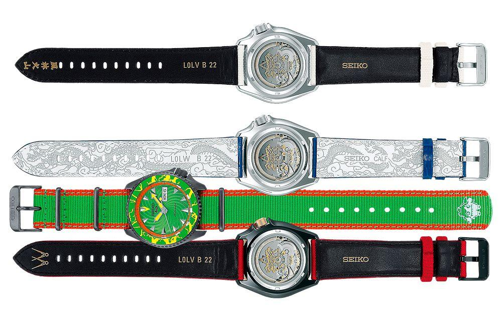 Relojes Seiko Street Fighter