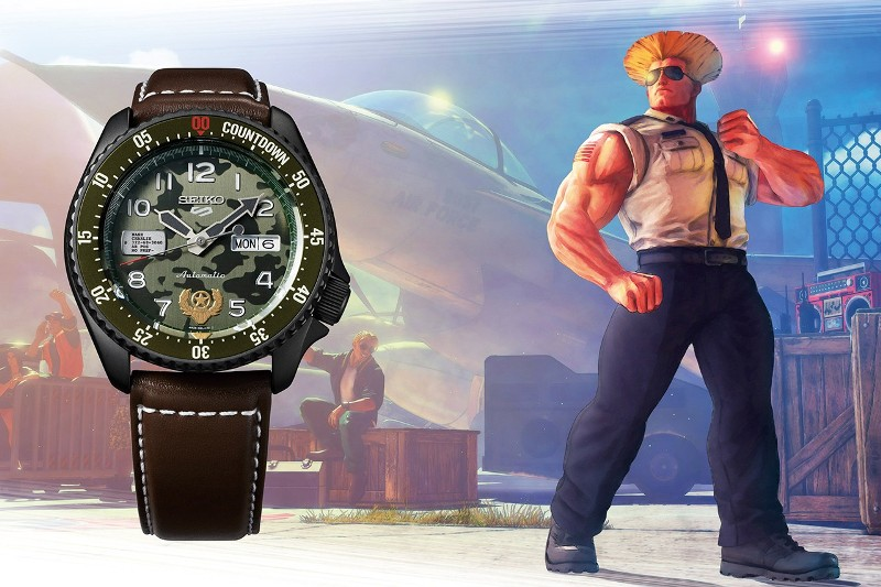 Seiko Street Fighter SRPF21K1 Guile