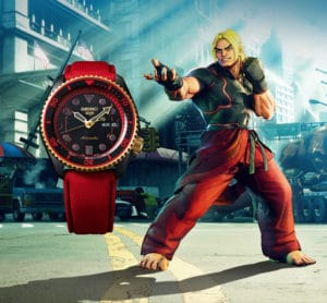Seiko SRPF20K1 Ken Street Fighter